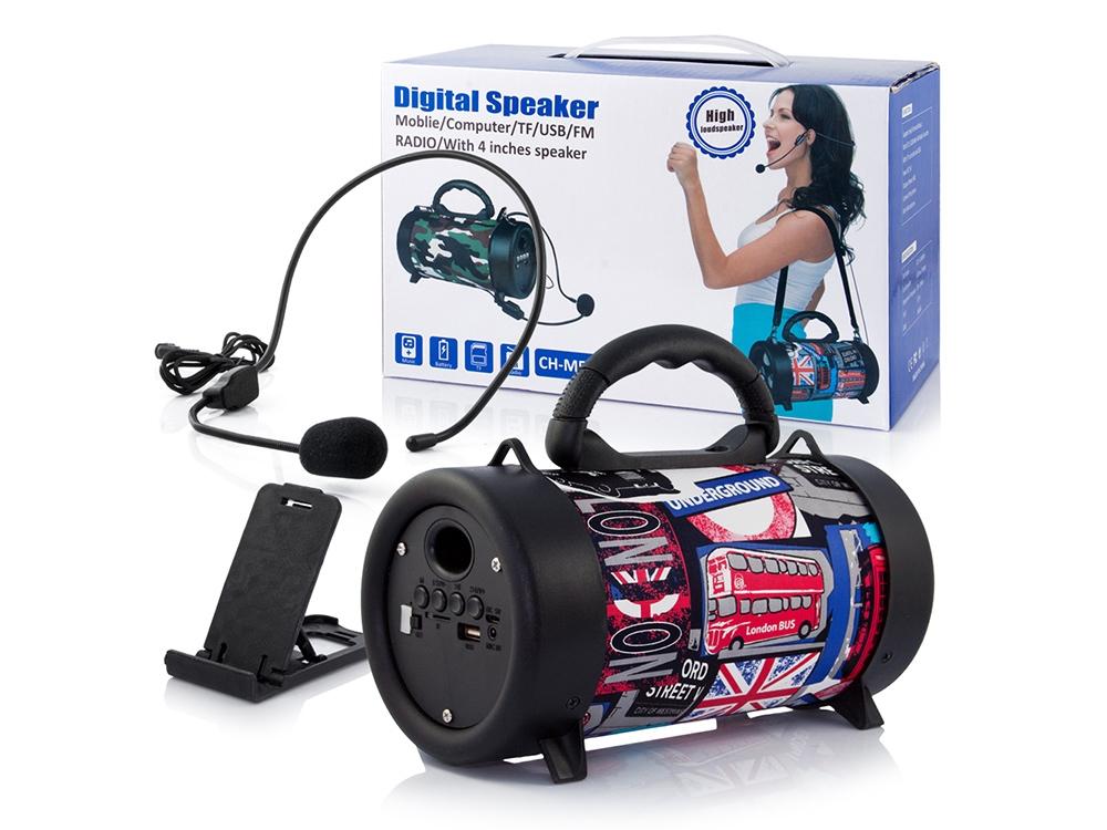 Bluetooth Speaker TUBA G210 Flag