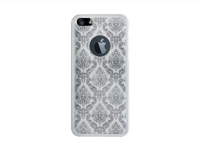 Калъф Гръб Силикон - Orient iPhone 5 / 5S / SE - White