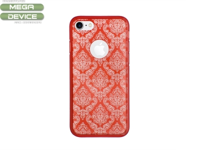 Силиконов гръб Orient за iPhone 7 / iPhone 8, Червен