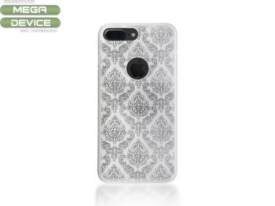 Силиконов гръб Orient за iPhone 7 Plus / 8 Plus , Бял