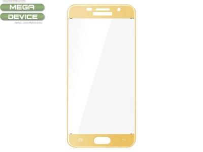Стъклен протектор Full IMAK за Samsung Galaxy A5 2017 A520, Златист