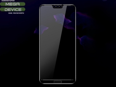 Стъклен Протектор Full IMAK за Huawei P20 Lite, Черен