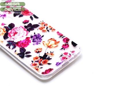 Силиконов гръб за Huawei P20 Lite , Цветя
