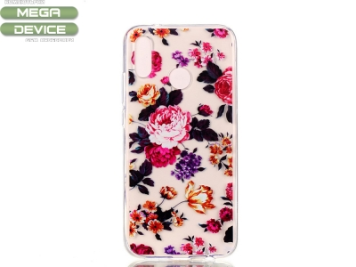 Силиконов гръб Huawei P20 Lite - Vivid Flowers