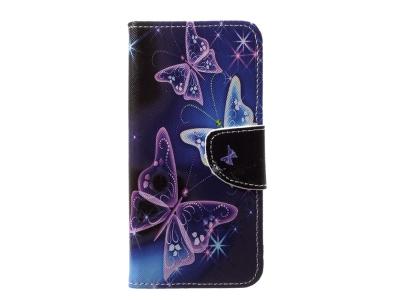 Калъф Тефтер за Huawei P20 Lite , Пеперуда