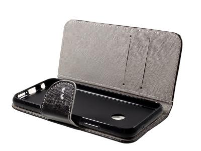 Калъф Тефтер за Huawei P20 Lite , Черен