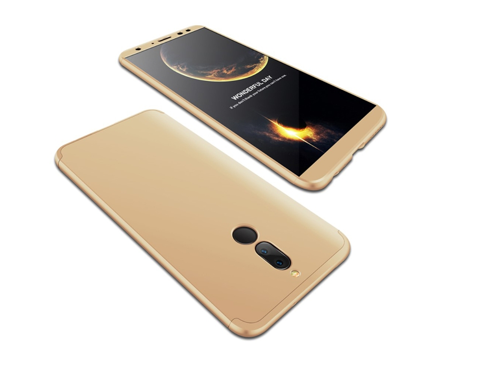 Пластмасов калъф FULL за Huawei Mate 10 Lite / Maimang 6 / nova 2i / Honor 9i , Златист