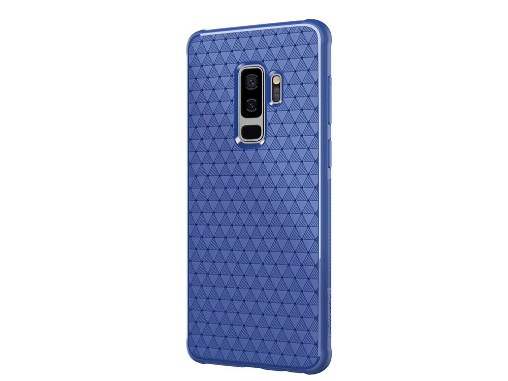 Силиконов гръб NILLKIN за Samsung Galaxy S9 Plus 2018 G965, Син