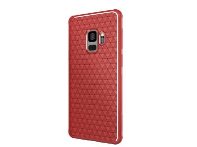 Силиконов гръб NILLKIN Weave - Samsung Galaxy S9 G960 - Red