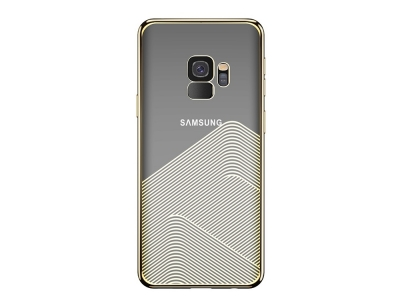 Силиконов гръб SULADA за Samsung Galaxy S9 2018 G960, Златист