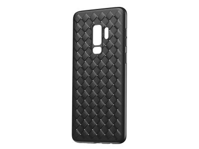 Силиконов гръб BASEUS Woven Texture - Samsung Galaxy S9 G960 - Black