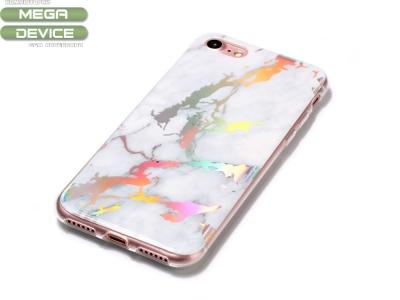 Силиконов гръб Marble за Iphone 7 / Iphone 8, Бял