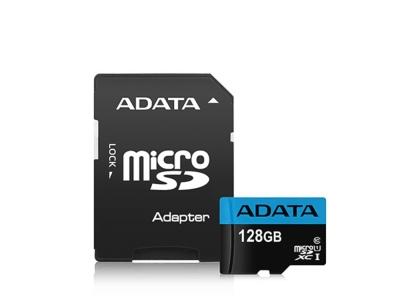 FLASH 128G SDXCM+AD UHS-I CL10 ADATA