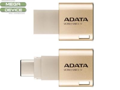 FLASH 16BG USB3+TYPE-C UC350 ADATA