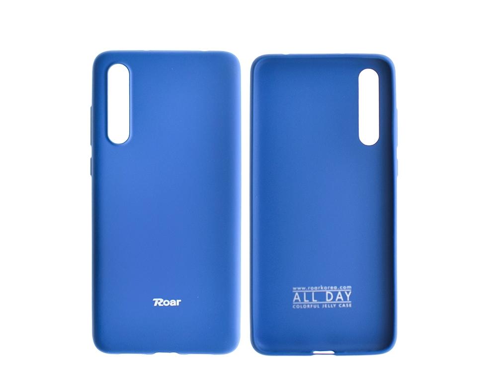 Силиконов гръб Roar за Huawei P20 Pro, Тъмно син