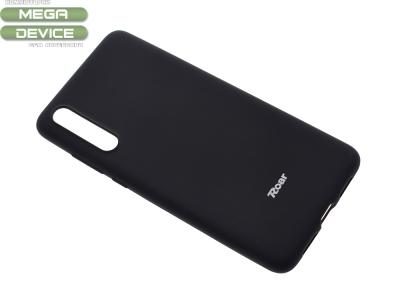 Силиконов гръб Roar за Huawei P20 Pro, Черен