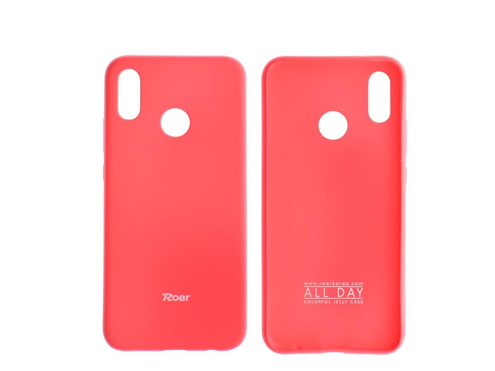 Силиконов гръб Roar за Huawei P20 Lite, Розов