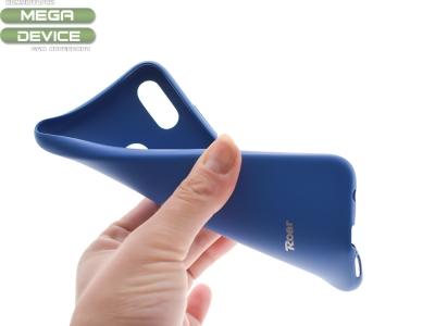 Силиконов гръб Roar за Huawei P20 Lite, Тъмно син