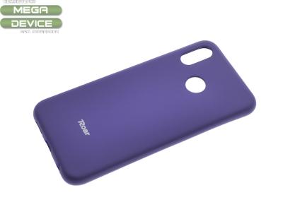 Силиконов гръб Roar за Huawei P20 Lite, Лилав