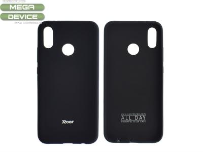 Силиконов гръб за Roar за Huawei P20 Lite, Черен