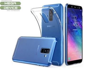 Силиконов гръб за Samsung Galaxy A6 Plus 2018, Прозрачен