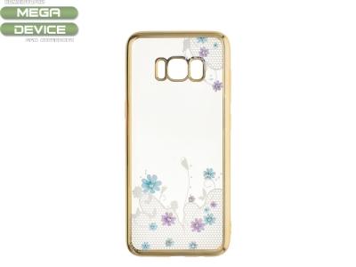 Силиконов Гръб за Samsung Galaxy S8 2017, Златист
