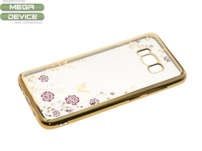 Силиконов Гръб за Samsung Galaxy S8 2017 , Златист