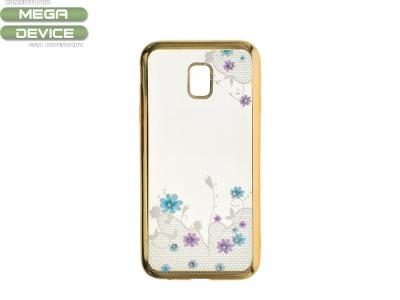 Силиконов Гръб за Samsung Galaxy J5 2017 J530, Златист