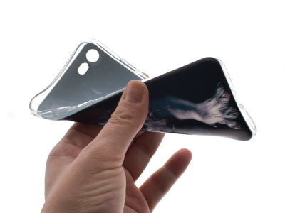 Силиконов гръб за iPhone 7 / 8 , Вълк