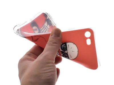 Силиконов гръб за iPhone 7 / 8, Хипстър
