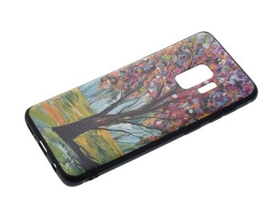 Силиконов Гръб HOCO за Samsung Galaxy S9 2018, Дърво