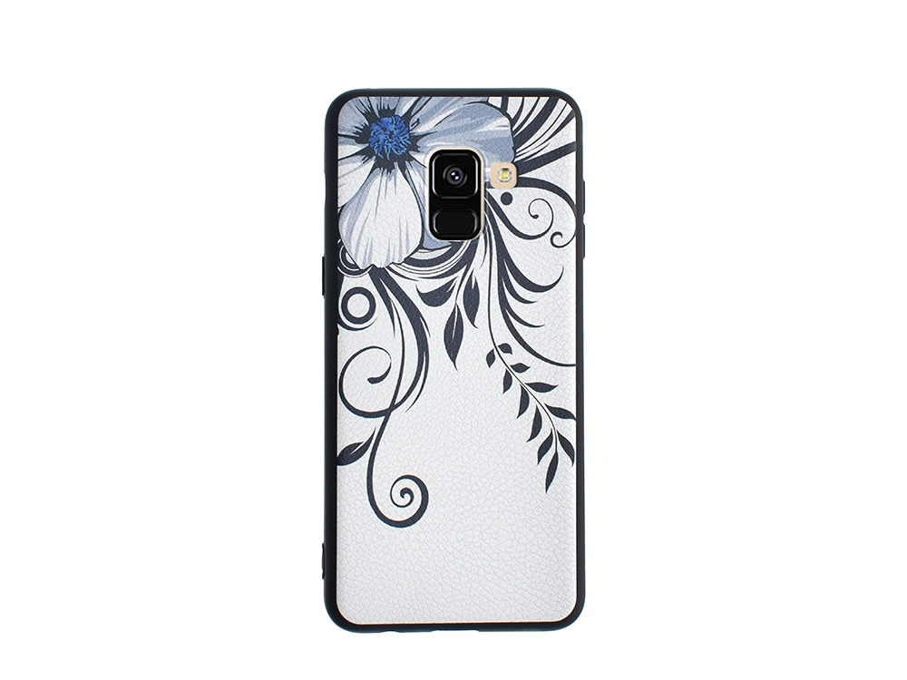 Силиконов Гръб HOCO за Samsung Galaxy A5 2018 / A8 2018, Цветя