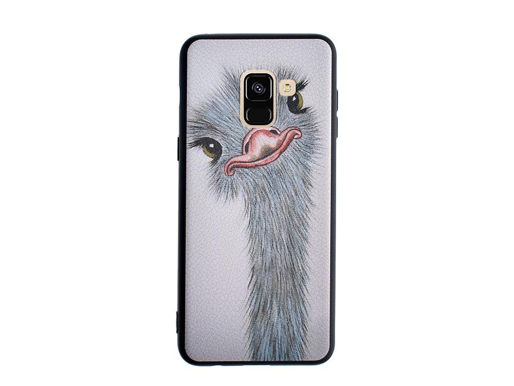 Силиконов Гръб HOCO за Samsung Galaxy A5 2018 / A8 2018, Щраус