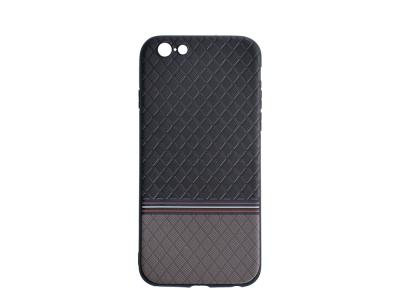 Силиконов Гръб Ромбоид за iPhone 6 / 6S, Сив