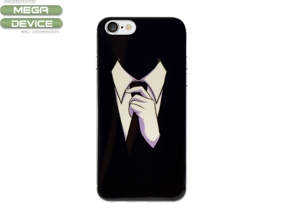 Силиконов Фосфорисцентен гръб Glowing за Iphone 7 / Iphone 8