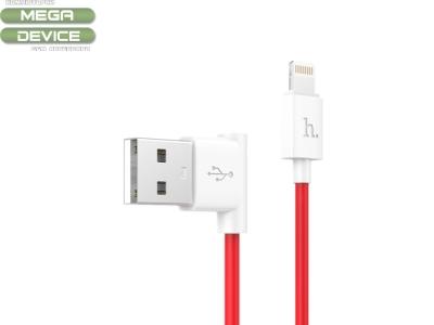 USB Кабел HOCO  L Shape UPL11 iPhone Lightining 1.2M Red