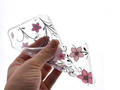 Силиконов гръб за Samsung Galaxy S9 Plus 2018 G965, Розови цветя
