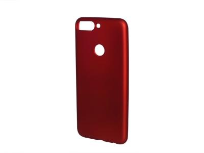 Силиконов Гръб Jelly за Huawei Y7 2018 / Y7 Prime 2018, Червен