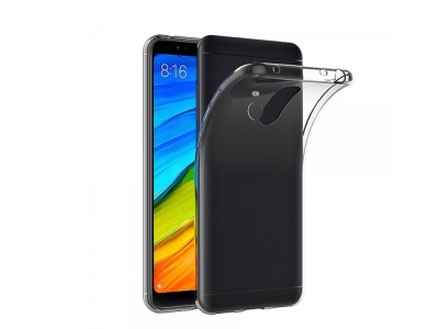 Силиконов гръб за Xiaomi Redmi 5, Прозрачен