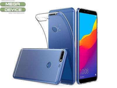 Силиконов гръб за Huawei Y7 2018 / Y7 Prime 2018, Прозрачен