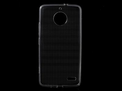 Силиконов гръб за Motorola Moto E4, Прозрачен