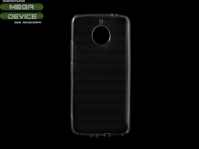 Силиконов гръб за Motorola Moto E4 Plus , Прозрачен