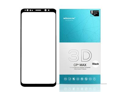 Стъклен Протектор NILLKIN 3D за Samsung Galaxy S9 2018, Черен