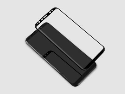 Стъклен Протектор NILLKIN 3D за Samsung Galaxy S9 Plus 2018, Черен