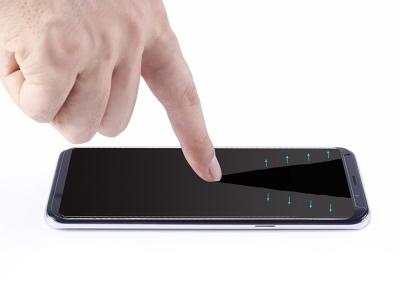 Стъклен Протектор Full Glue 5D за Samsung Galaxy S9 Plus 2018, Черен
