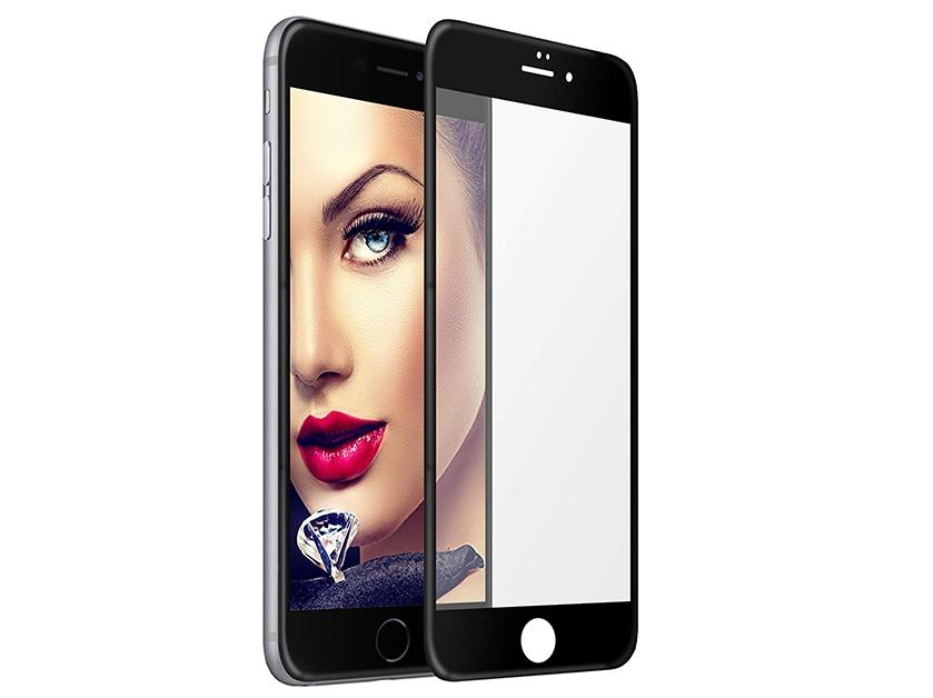 Стъклен протектор 5D Full Glue Iphone 6 (4.7) , Черен