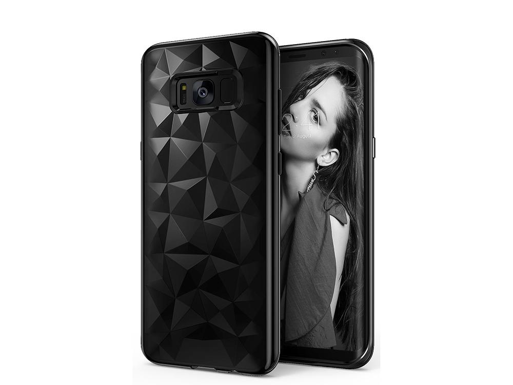 Силиконов гръб PRISM за Samsung Galaxy S8 2017 G950, Черен