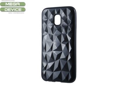 Силиконов гръб PRISM за Samsung Galaxy J7 2017 J730, Черен
