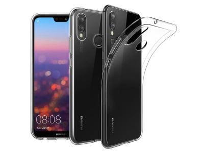 Силиконов гръб 0.5mm за Huawei P20 Lite, Прозрачен