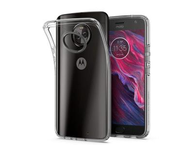 Силиконов гръб за Motorola Moto X4, Прозрачен